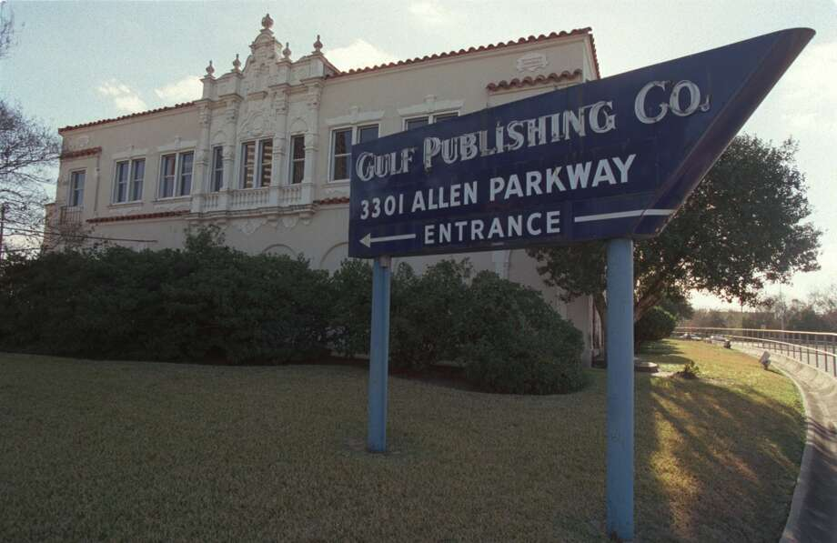 The Gulf Publishing buildingRazed in 2002 to create space for a residential high-rise in Allen Parkway. The Houston Archaeological and Historical Commission called it one of the city's best examples of Spanish-Mediterranean architecture. Erected in 1926 and it featured red clay tiles on the roof and elaborate ornamentation on white stucco walls. Photo: Kevin Fujii, Houston Chronicle