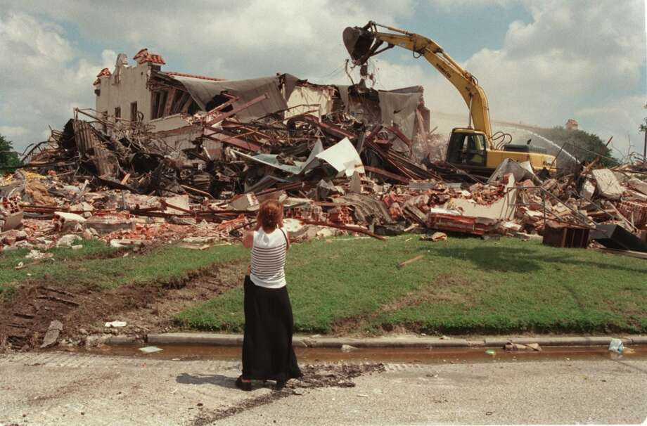 The Gulf Publishing building is pictured after demolition. Photo: Ben DeSoto, Houston Chronicle