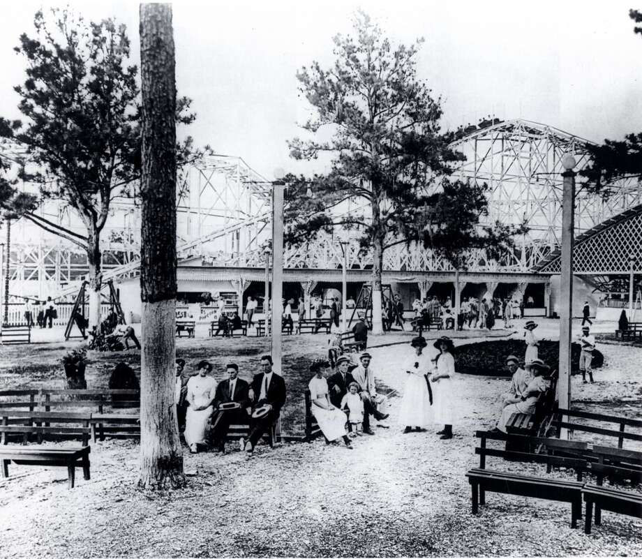 """Luna ParkWhen Luna Park opened in 1924, it proclaimed itself """"the Coney Island of Texas."""" The 36-acre park was located at the 2200 block of Houston Street. I-10 now crosses that site. Photo: Houston Metropolitan Research Ce"""