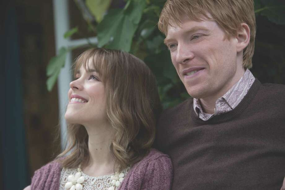 "Mary (RACHEL MCADAMS) and Tim (DOMHNALL GLEESON) in ""About Time"", the new comedy about love and time travel from writer/director Richard Curtis, which discovers that, in the end, making the most of life may not need time travel at all. 	 Byline: 	Photo Credit: Murray Close 	 Copyright: 	Copyright: © 2013 Universal Studios. ALL RIGHTS RESERVED. Photo: Murray Close / © Universal Pictures"