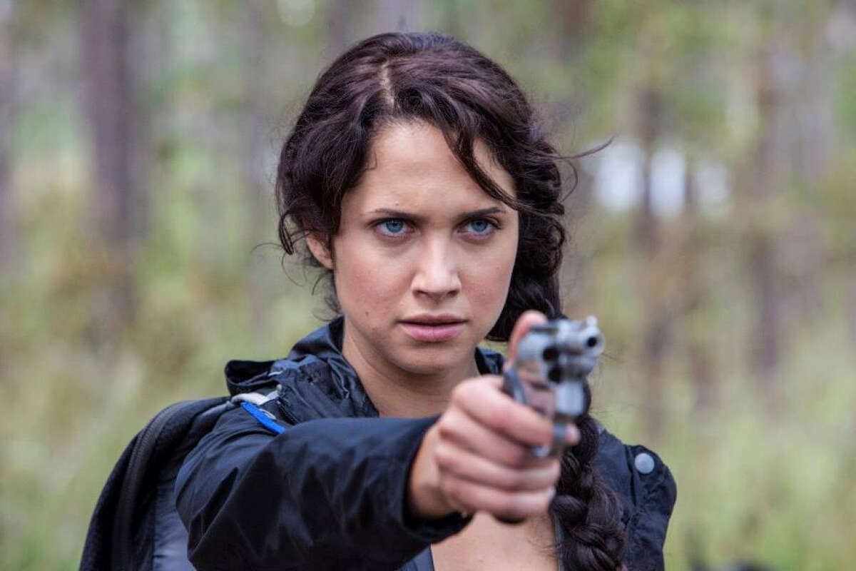 """Maiara Walsh stars as Kantmiss Evershot in """"The Starving Games,"""" a spoof of """"The Hunger Games."""""""