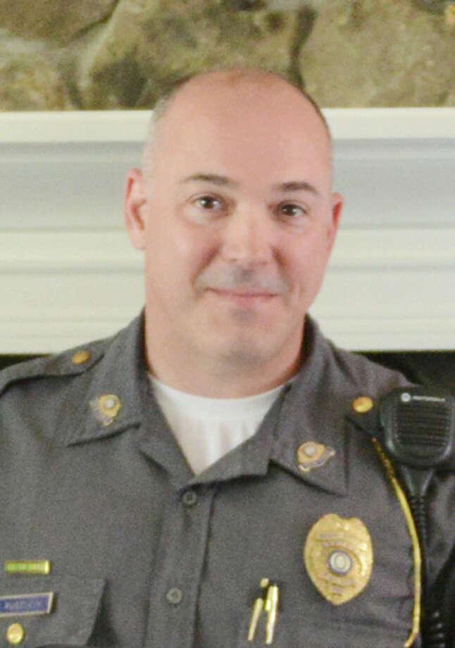 Newtown Police Union President Scott Ruszczyk Photo: Tyler Sizemore/ File, Tyler Sizemore / The News-Times
