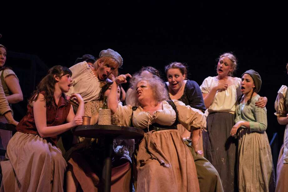 "The ""Master of the House"" scene was one of the highlights in ""Les Miserables"" staged by The Playhouse in San Antonio. A reader praises the production, saying it ranked with those she has seen throughout the world. Photo: Courtesy Dwayne Green"