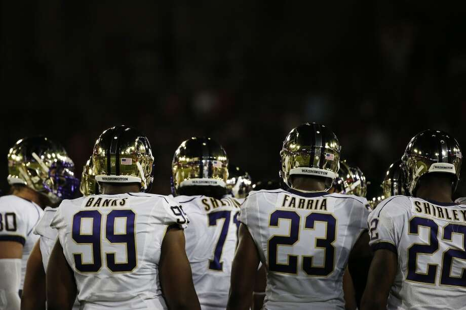 3. Will the D-line continue to improve?With the exception of one long run at the end of the Cal game, Washington's front four played very well two weeks ago. The Bears had just 58 yards rushing before Khalfani Muhammad broke through the Huskies secondary for 73 yards when the game was all but over.   The Bears finished with 131 yards on the ground, but the number was obviously skewed. It was a good performance by Washington's defense after getting torched a week previous against Arizona State.   Washington also sacked Cal quarterback Jared Goff five times, the most sacks since the Huskies nailed Idaho State signal-caller Justin Arias seven times. But here's the thing: The Huskies are tied for fourth in the Pac-12 – and 17th in the nation -- in sacks with 24, and are tied with Oregon in that category.   Colorado QB Liufau can extend plays, and his style will look quite familiar to Seattle fans. He plays a little like Russell Wilson. At 6-foot-4, 215 pounds, he's bigger than Wilson and doesn't quite run as well, but Liufau has the same sort of knack for extending plays, especially when the pocket breaks down. Meanwhile, the Huskies have struggled making a sack even after breaking the pocket.   Liufau has shown he will make mistakes when under pressure, but he's also shown he can escape that pressure and find his dangerous receivers downfield. The Dawgs will have to keep Liufau contained to control him. Photo: Stephen Lam, Getty Images