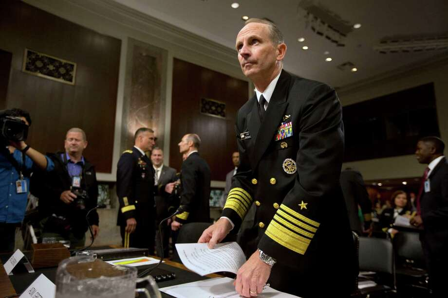 Chief of Navy Operations Adm. Jonathan Greenert won't be pleased. The agreement cuts staff expense budgets for generals and admirals. Photo: Jacquelyn Martin, Associated Press / AP