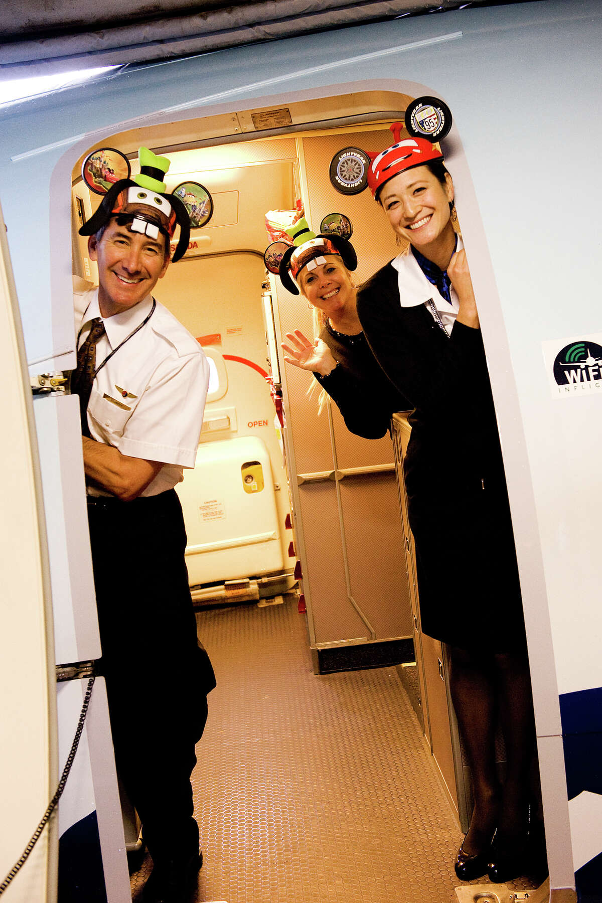 The crew of Alaska Airlines' new