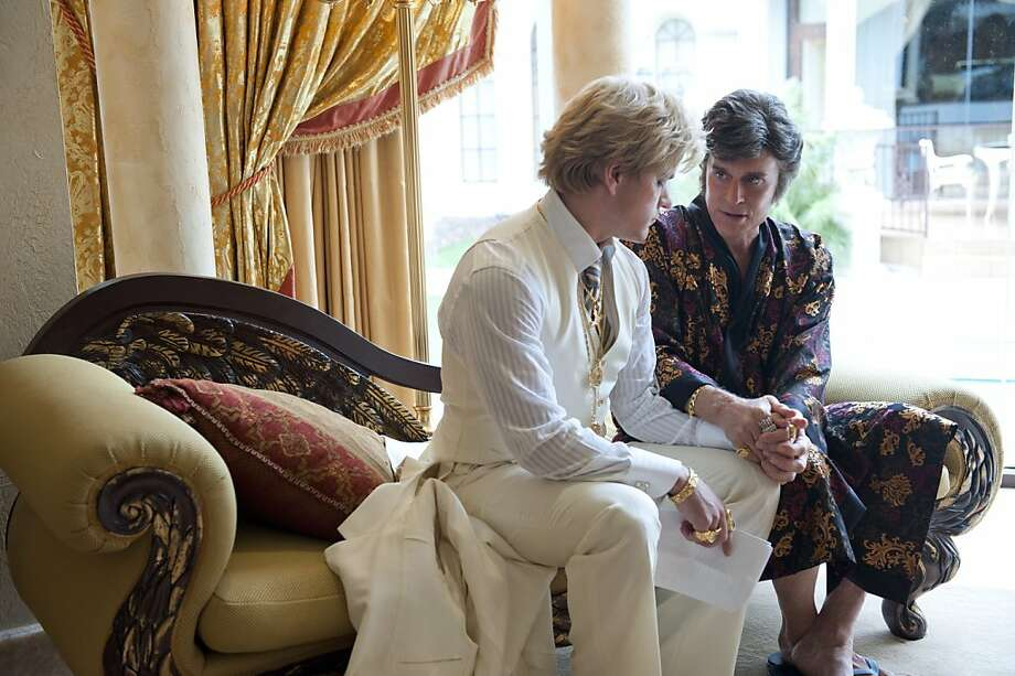 """OK, so this was a TV movie, but since it's from HBO, we'll let it slide. Michael Douglas stars Liberace and Matt Damon is his lover Scott Thorson in Steven Soderbergh's""""Behind the Candelabra."""" Photo: Claudette Barius, Associated Press"""
