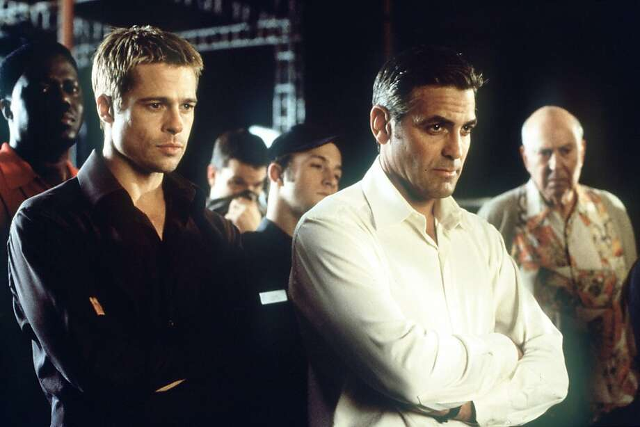 "Brad Pitt, George Clooney, Matt Damon and a host of other actors brought the glamour of Vegas back to the big screen with the 2001 remake of the crime caper ""Ocean's 11,"" directed by Steven Soderbergh. Photo: Handout"