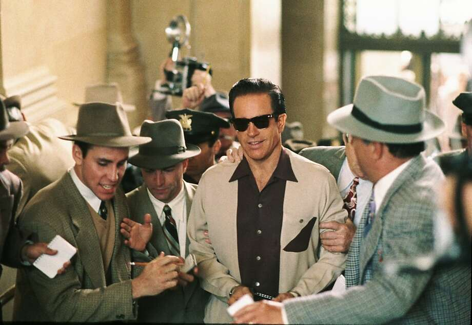 """A little Vegas history: Warren Beatty starred as mobsterBugsy Siegel, the man who built one of the original Vegas casino resorts, the Flamingo, in 1991's """"Bugsy."""" Photo: Jewish Film Festival"""