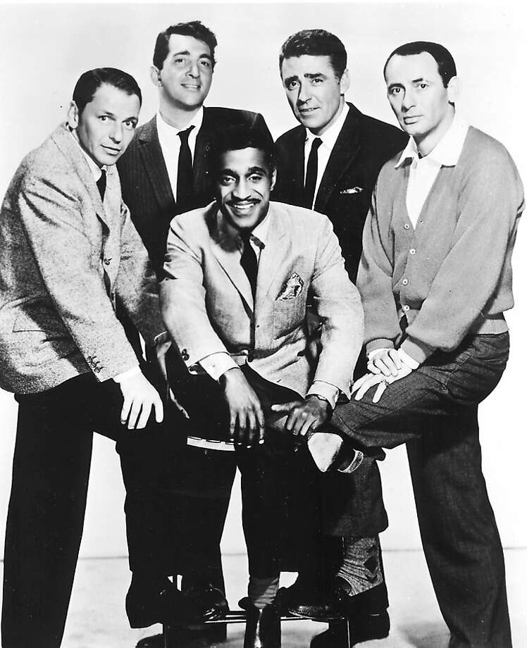 "The ""Rat Pack"" — Frank Sinatra, Dean Martin, Sammy Davis Jr., Peter Lawford and Joey Bishop — starred in the original Vegas movie, ""Ocean's 11."" Photo: Ho, REUTERS"