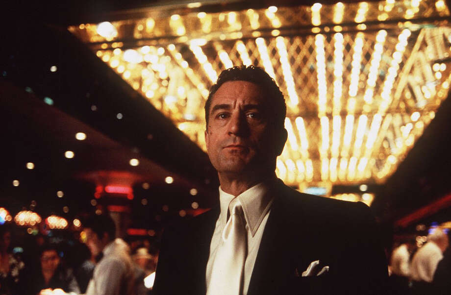 "Martin Scorsese's 1995 crime-drama ""Casino"" starred Robert De Niro who runs a top Vegas casino for the mob. Sharon Stone won a Golden Globe for her role as De Niro's reluctant mob wife. Photo: Universal"