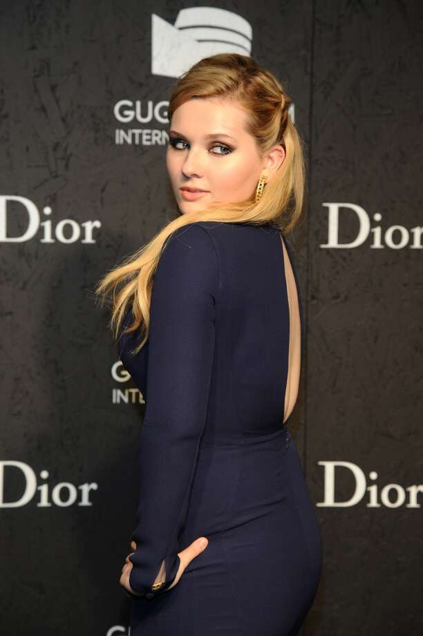 Abigail Breslin attends the Guggenheim International Gala, made possible by Dior, Pre-party hosted by The Young Collector's Council at the Guggenheim Museum on November 6, 2013 in New York City. Photo: Gary Gershoff, Getty Images For Dior