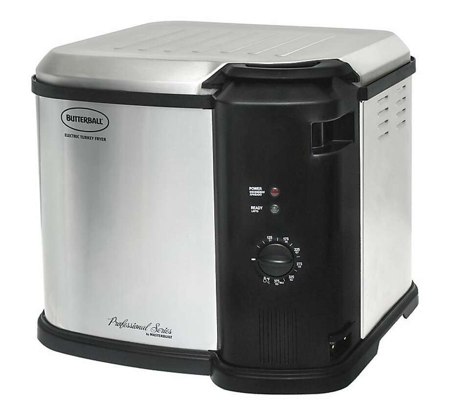 The Butterball Indoor Electric Turkey Fryer steams as well as fries, and comes in two sizes.