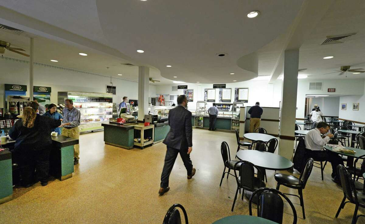 The Capital Deli Thursday afternoon Nov. 7, 2013, as Sodexo Food Service winds down its contract with the state to run the cafeteria on the first floor of the Capitol in Albany, N.Y. (Skip Dickstein / Times Union)