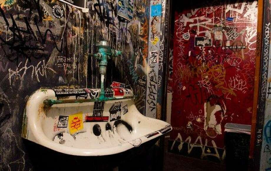 The men's room at the Comet Tavern on Capitol Hill. Photo: Joe Dyer/seattlepi.com