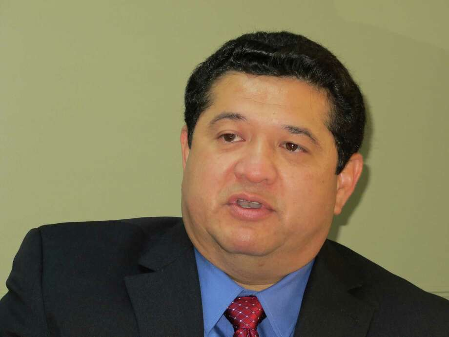 Robert Camareno - New Braunfels City Manager. November 7, 2013 Photo: Zeke MacCormack, San Antonio Express-News / San Antonio Express-News