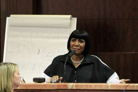 R&B singer Patti LaBelle is a witness at the Harris County Criminal Courthouse in a lawsuit accusing her bodyguard of beating a West Point cadet who was waiting for a ride at Bush Intercontinental in 2011.