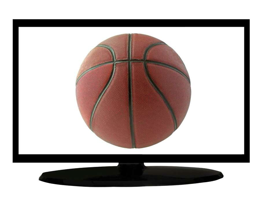 A black tv with basketball ball on screen / Koufax73 - Fotolia