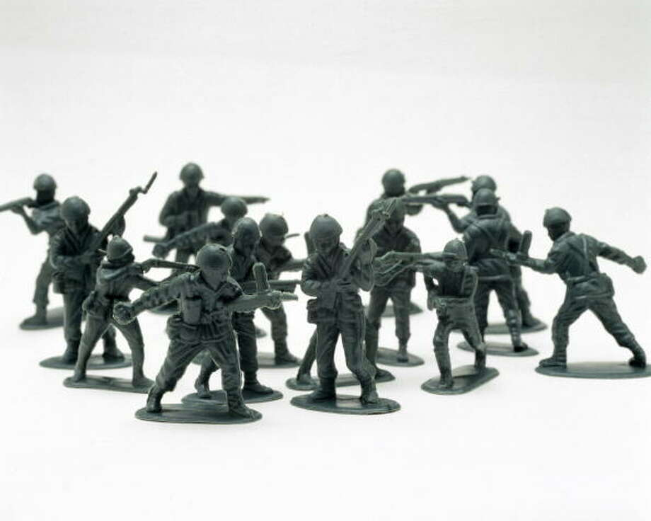 Plastic Army Men Photo: Science & Society Picture Librar, Getty Images / SSPL/Science Museum