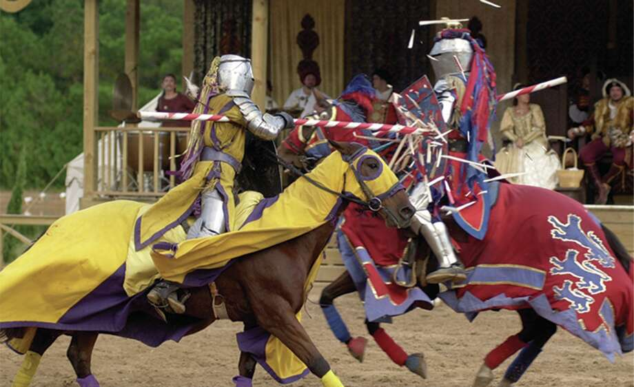 Jousting is the centerpiece of the Texas Renaissance Festival. COURTESY PHOTO Photo: File Photo