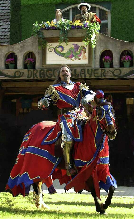 The 33rd annual Texas Renaissance Festival continues through Nov. 25, offering visitors a glimpse into the past complete with jousting, fireworks and day-in-the-life demonstrations. Photo: File Photo