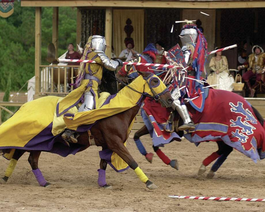 Texas Renaissance Festival, jousting Photo: Courtesy Photo, File Photo