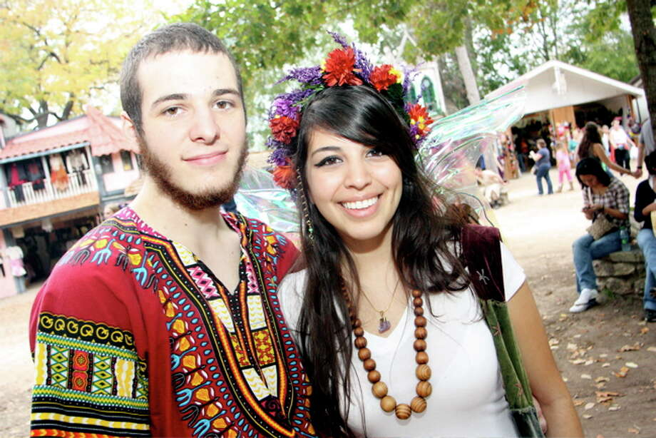 Thomas Swaffield and Carla Ramos at the Texas Renaissance Festival, Nov. 20, 2011 Photo: Jordan Graber, File Photo