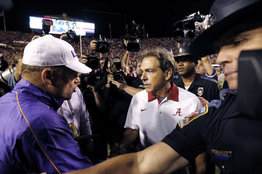 Les owns a history of success against Nick.  And at Alabama. Photo: Gerald Herbert, AP