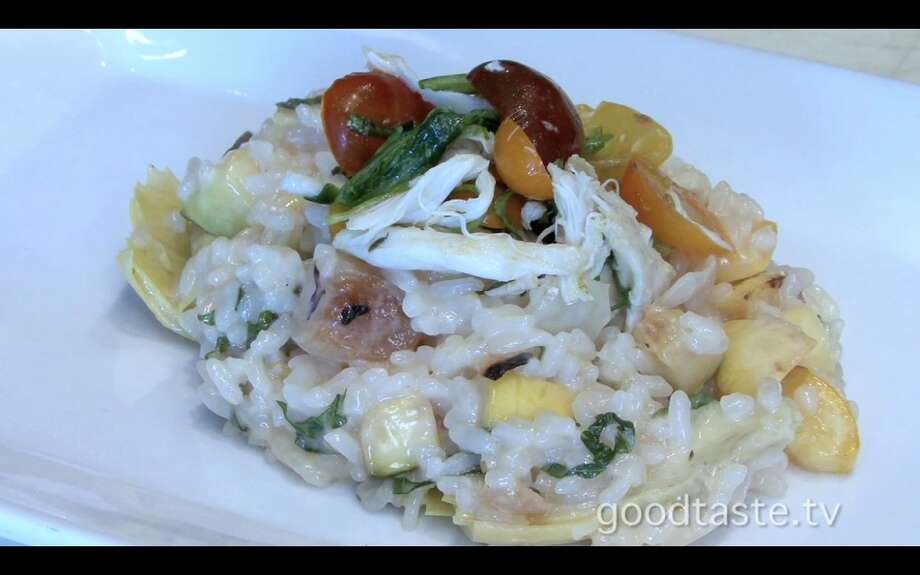 Masraff's Wild Mushroom and Corn Risotto