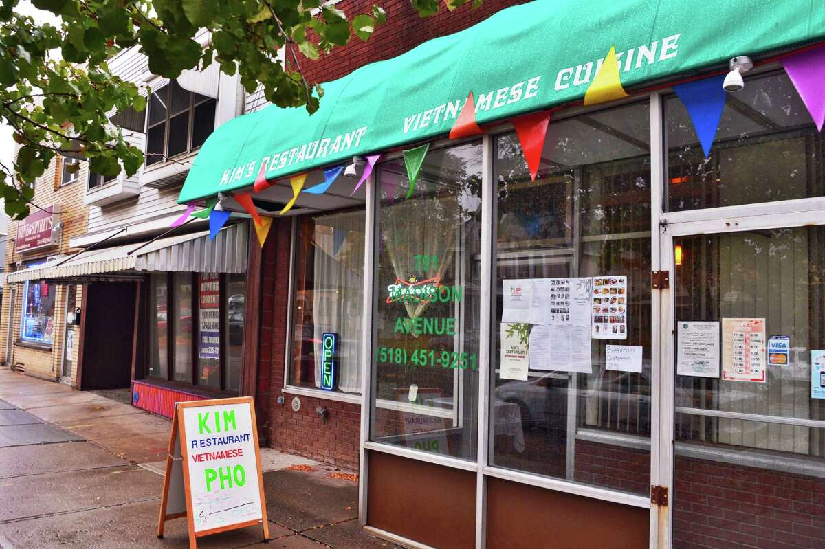 Exterior of Kim's Vietnamese restaurant on Madison Ave. Thursday Oct. 31, 2013, in Albany, NY. (John Carl D'Annibale / Times Union)