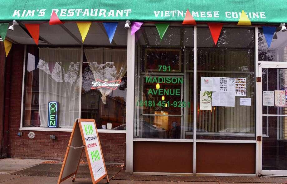 Kim's Vietnamese Restaurant. 791 Madison Ave., Albany.Exterior of Kim's Vietnamese restaurant on Madison Ave. Thursday Oct. 31, 2013, in Albany, NY. (John Carl D'Annibale / Times Union) Photo: John Carl D'Annibale / 00024459A