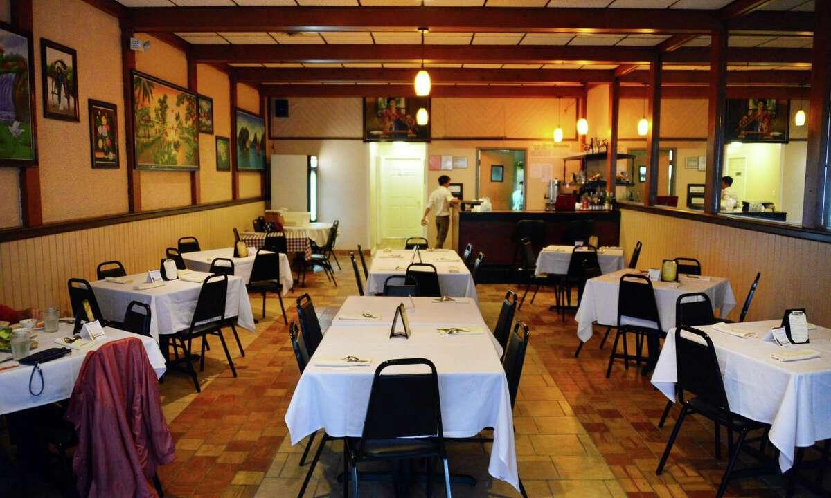 Interior of Kim's Vietnamese restaurant on Madison Ave. Thursday Oct. 31, 2013, in Albany, NY. (John Carl D'Annibale / Times Union)