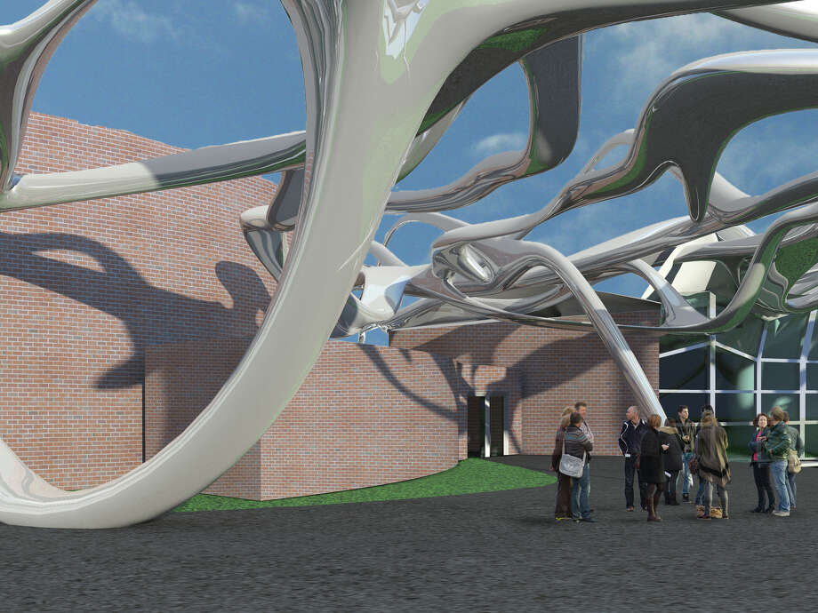RPI student Dillon Webster's vision of miSci's entrance