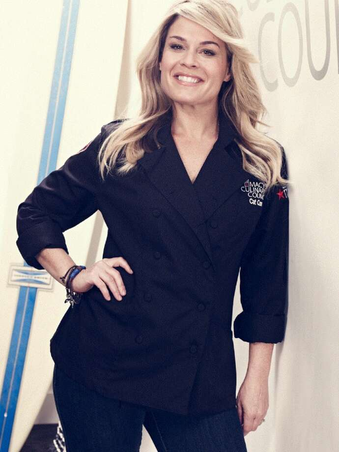 Chef Cat Cora from The Food Network's 'Iron Chef America'