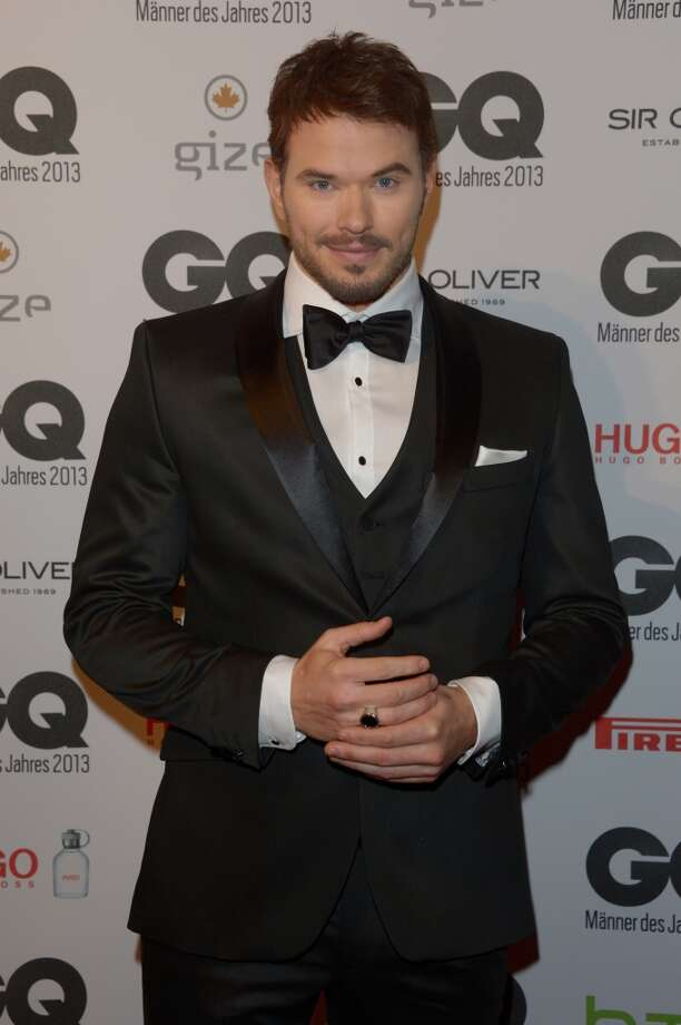 Kellan Lutz arrives at the GQ Men of the Year Award at Komische Oper on November 7, 2013 in Berlin, Germany.  (Photo by Luca Teuchmann/Getty Images  for GQ) Photo: Luca Teuchmann
