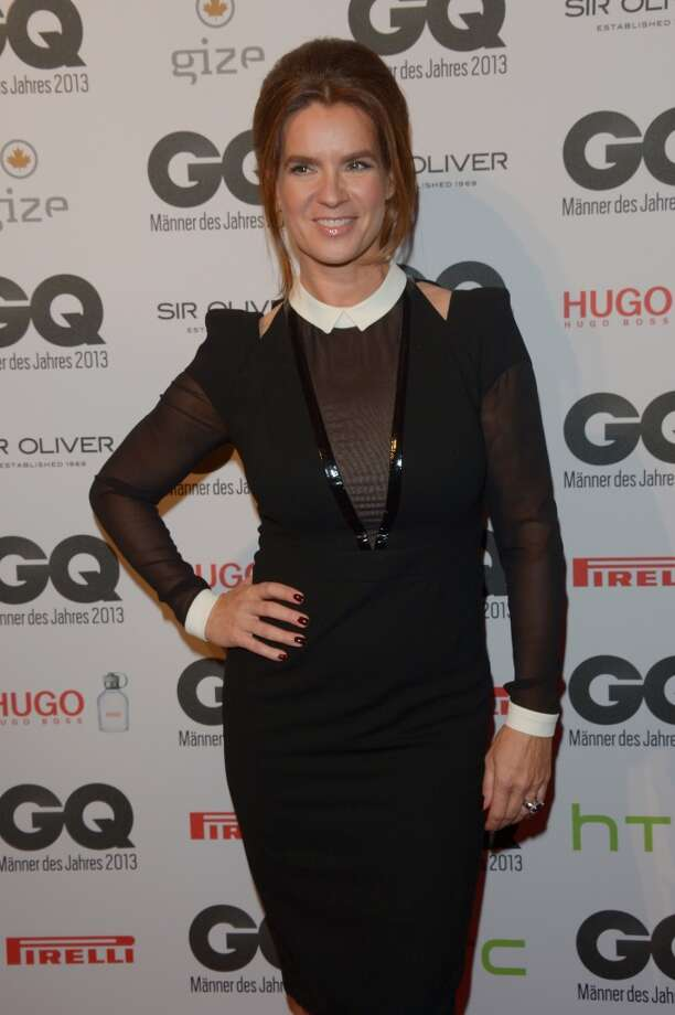 Katarina Witt arrives at the GQ Men of the Year Award at Komische Oper on November 7, 2013 in Berlin, Germany.  (Photo by Luca Teuchmann/Getty Images  for GQ) Photo: Luca Teuchmann