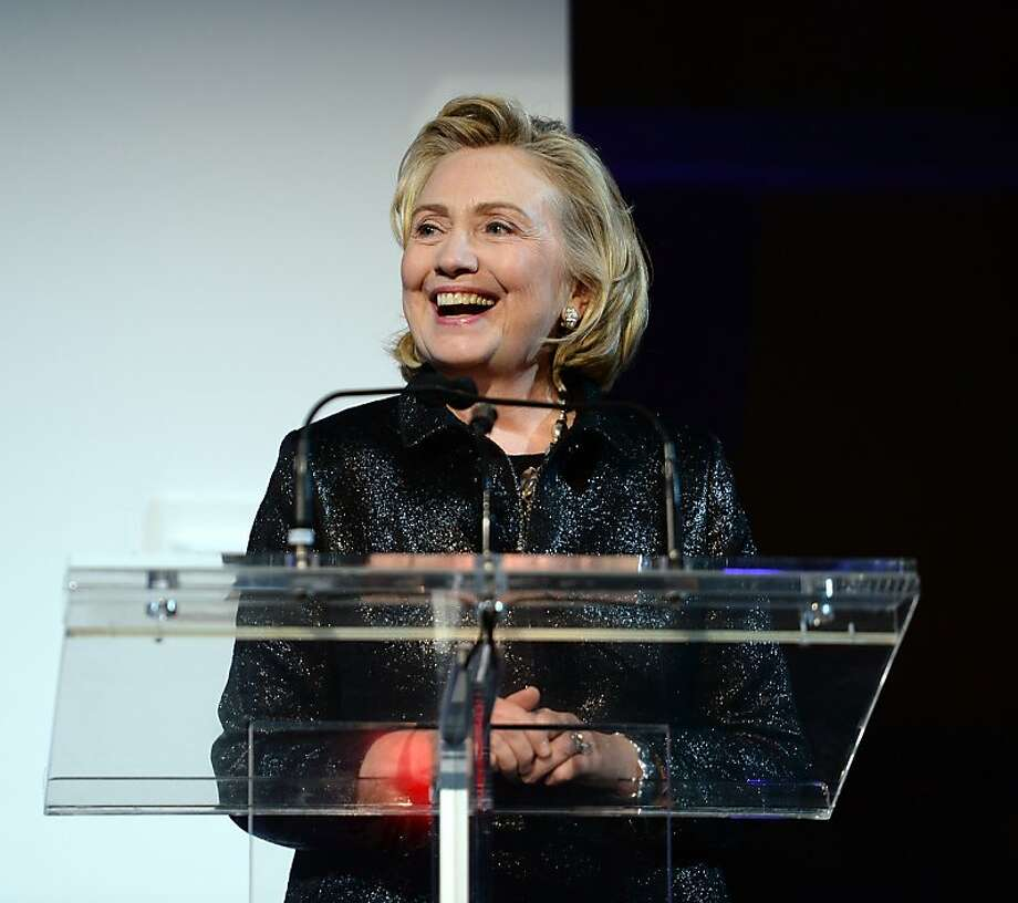 Hillary Clinton Photo: Dimitrios Kambouris, Getty Images For Michael Kors