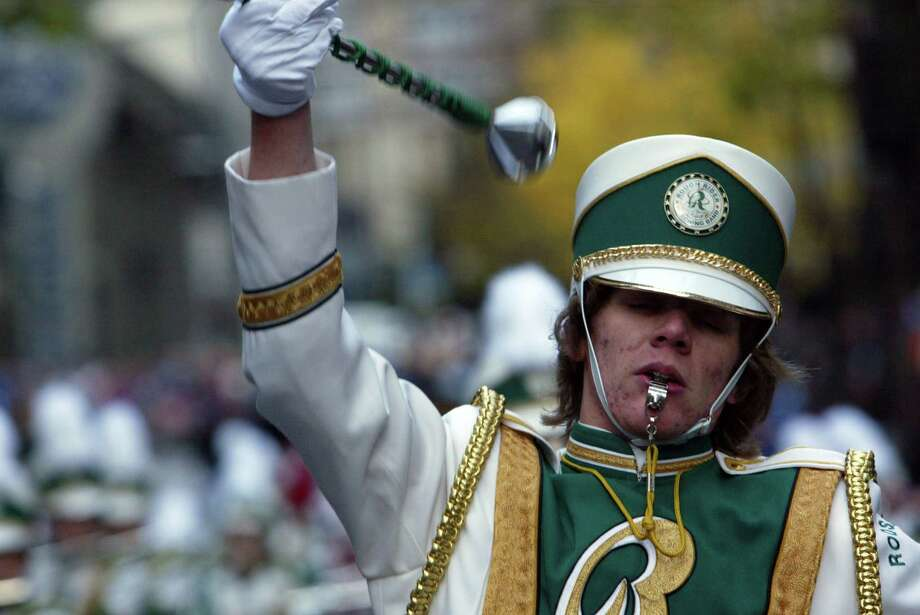 Roosevelt Roughrider marching band in 2006. Pictured is Christoph Krumm.  Photo: Karen Ducey, Seattle Post-Intelligencer File / Karen Ducey