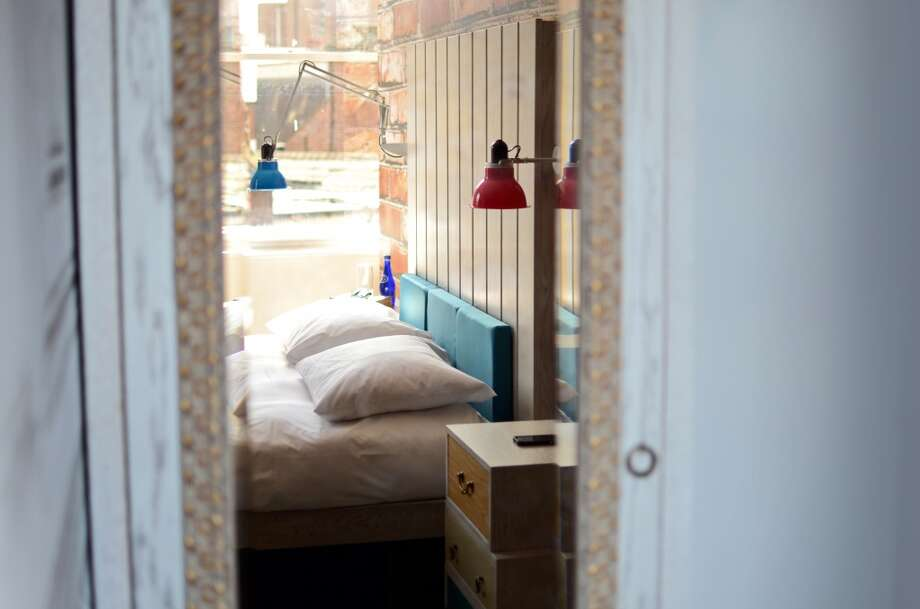 Larger mattresses and more private rooms are part of the attraction of Hoax, an independent luxury hostel brand that debuted in Liverpool in August. Photo: Hoax