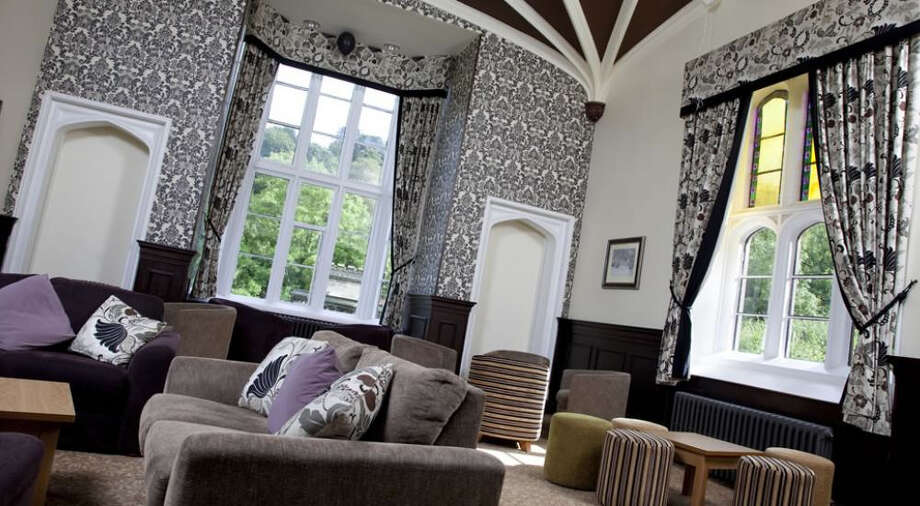 The $3.2 million renovation of YHA's Ilam Hall in the Peak District several years ago helped lead the way for more luxurious decor in England's  YHA hostels. Photo: YHA