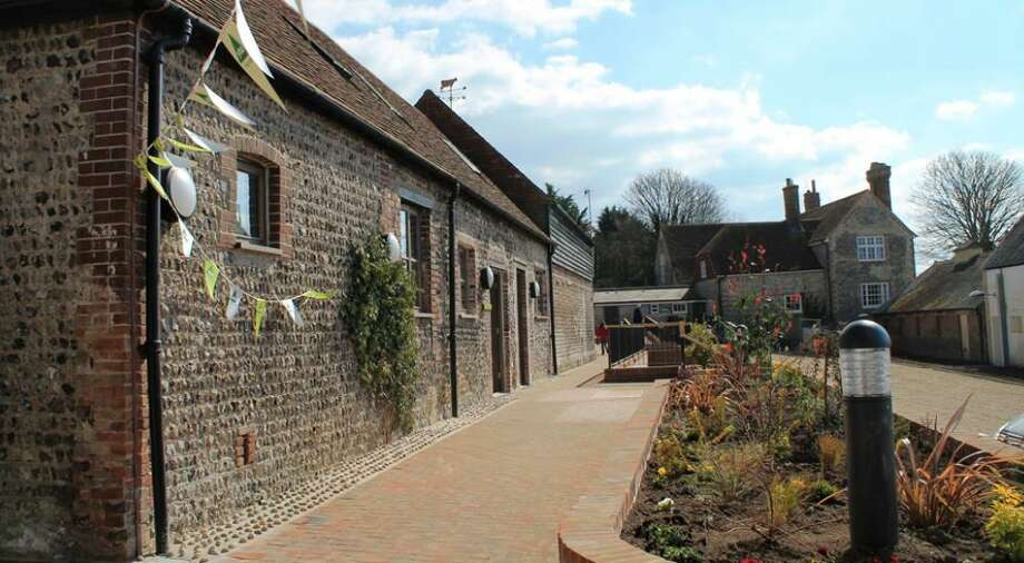 YHA spent $4.8 million renovating a farmstead in Lewes to create its new South Downs hostel with a bar, cafe and 66 beds. Photo: YHA