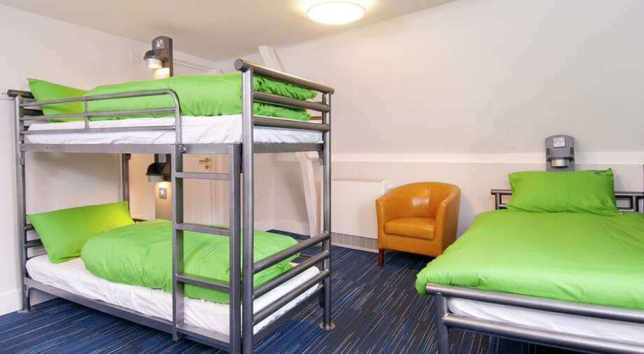 The new YHA South Downs has right, modern bunk rooms  with beds from $16 and private rooms from $32. Photo: YHA