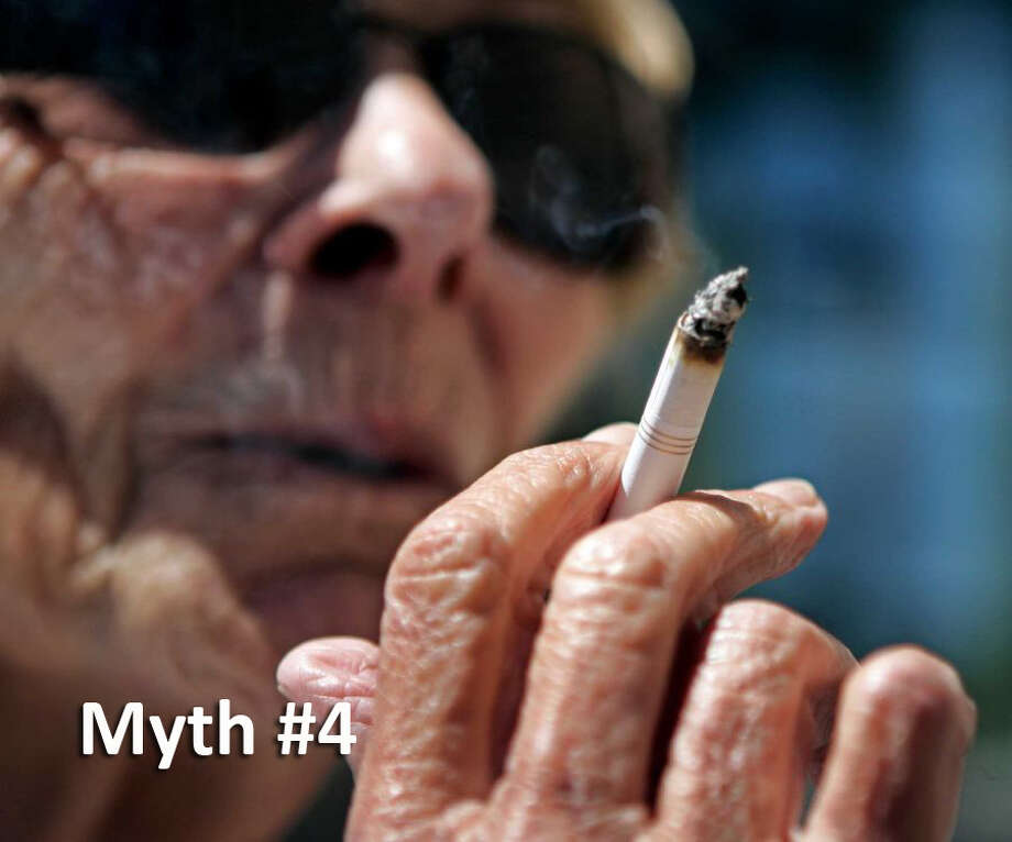 Smoking outside eliminates secondhand smoke dangers