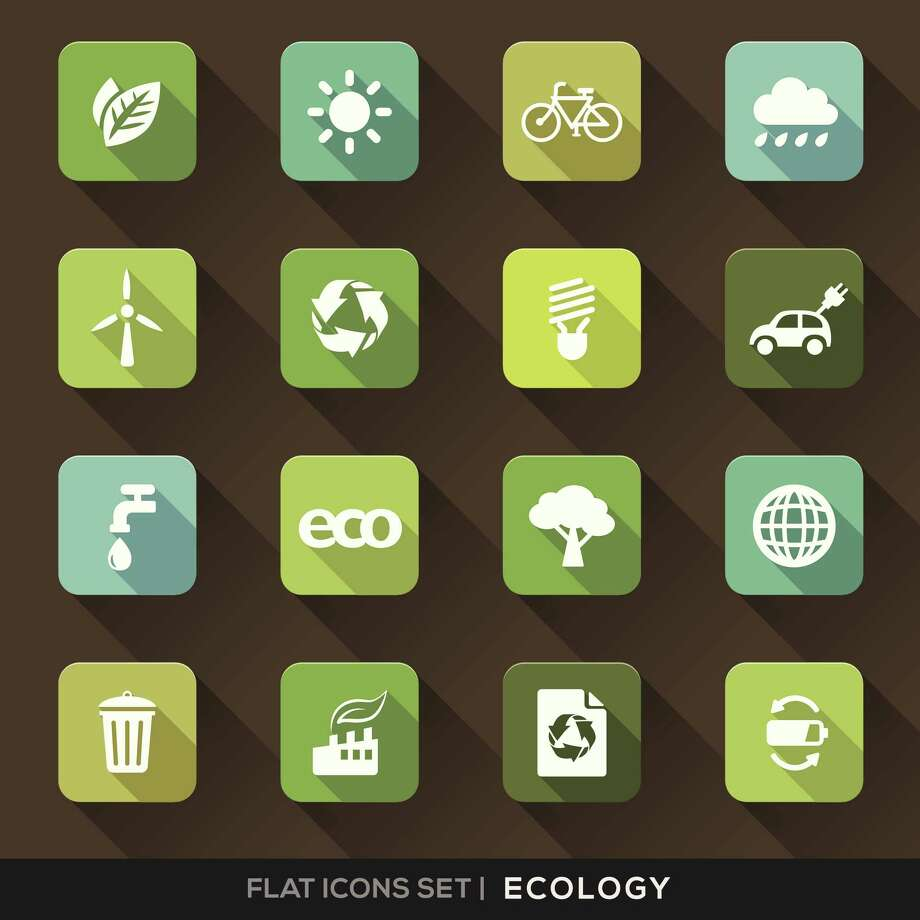 Ecology Flat Icons Set Photo: Kraphix / iStockphoto