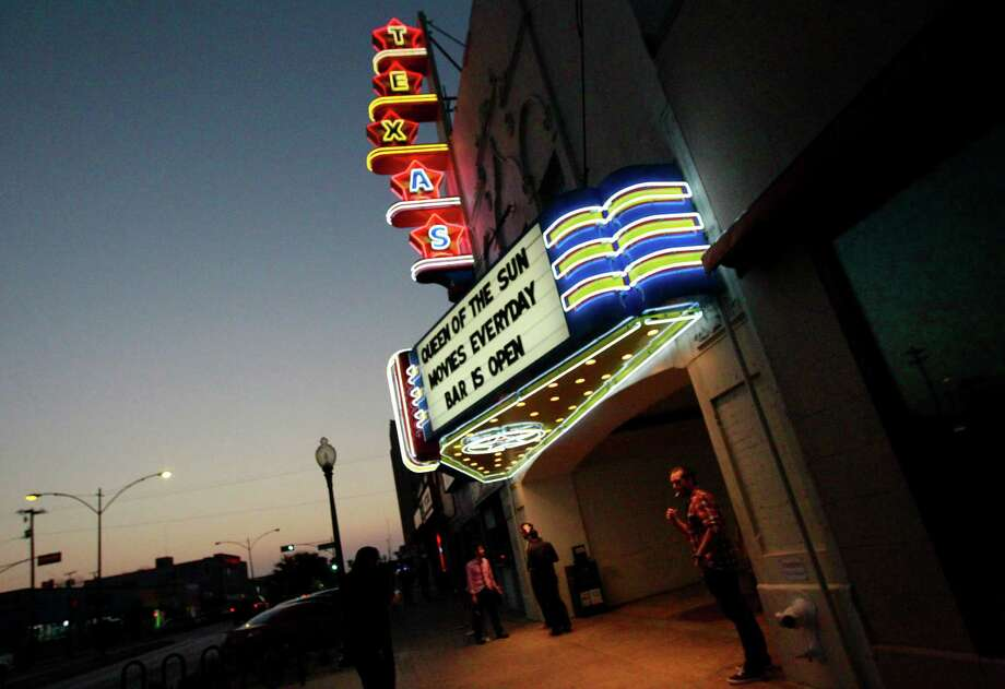 Lee Harvey Oswald was arrested inside the Texas Theatre near downtown Dallas. The theater is now on the National Register of Historic Places. Photo: Mona Reeder, STAFF PHOTOGRAPHER / The Dallas Morning News