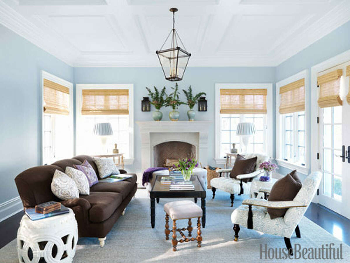 """Blue """"As tried and true blue, you bring a no-nonsense attitude to most endeavors, and your strong belief in the things you undertake is often the key to their success,"""" Smith says. Blue was also the favorite color of designer Lee Ann Thornton's clients - the color launched the palette in this Old Greenwich, Connecticut, living room. 20 Decorating Secrets No One Ever Told You90+ Amazing Designer Bedrooms101 Easy Makeover Ideas10 Tricks to Make Your Home Happier10 Quick Home Decorating Ideas"""