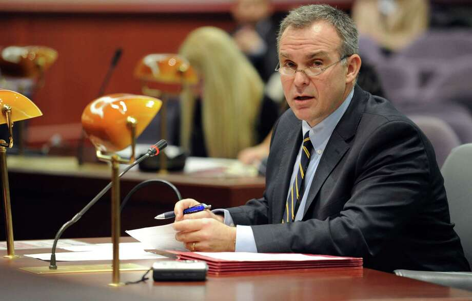 Danbury State's Attorney Stephen J. Sedensky III  speaks at the first meeting of the Sandy Hook Advisory Commission Thursday, Jan. 24, 2013 at the Legislative Office Building in Hartford, Conn. Photo: Autumn Driscoll, File Photo / Connecticut Post file