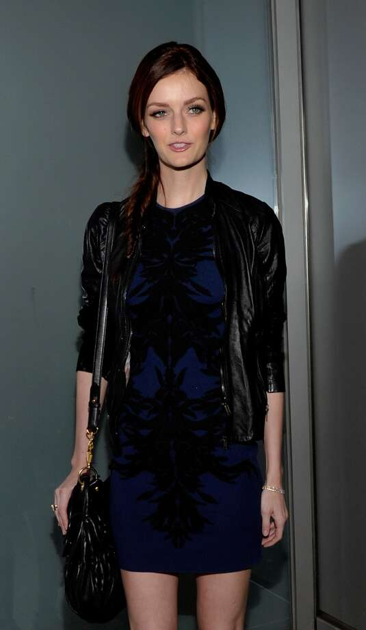 Model Lydia Hearst attends the Flaunt Magazine En Garde! Issue launch party with Selena Gomez and Amanda De Cadenet at Hakkasan Restaurant Beverly Hills on November 7, 2013 in Beverly Hills, California. Photo: John M. Heller, Getty Images