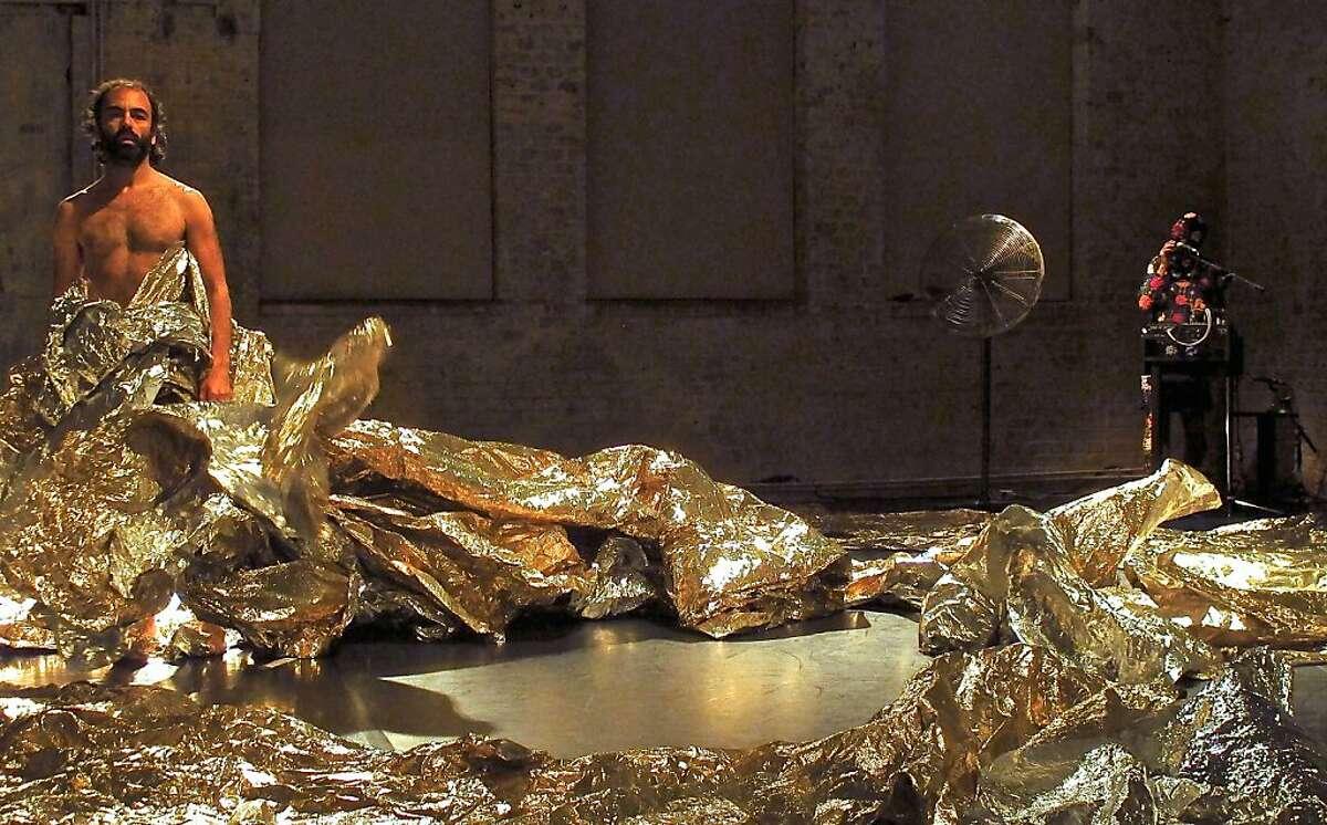 Kunst-Stoff''s Yannis Adoniou in Tomi Paasonen's