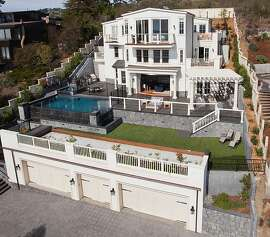 The seven-bedroom Tiburon home was rebuilt over a three-year period and is available for $7.95 million.
